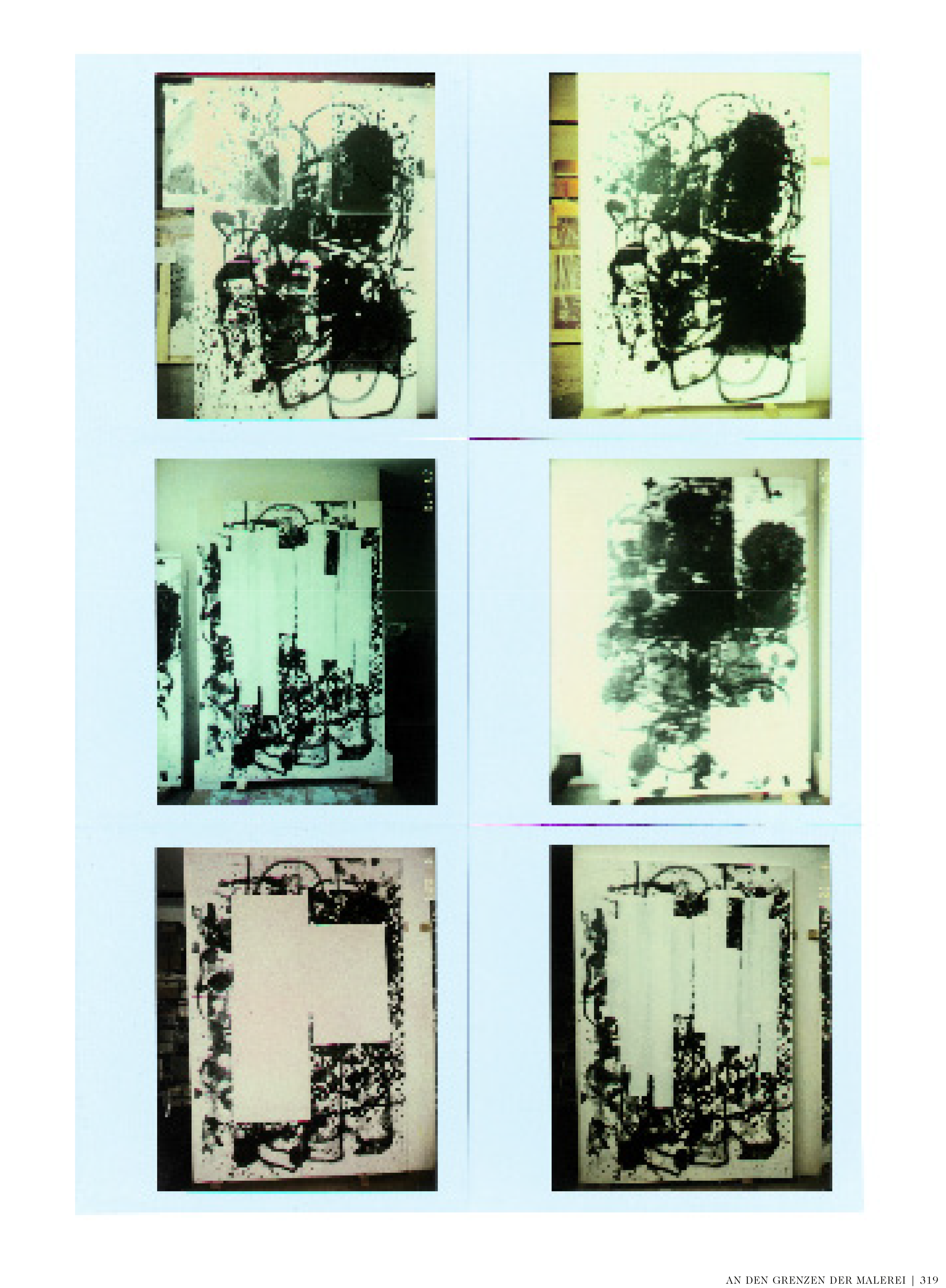"""Anne Pontégnie, """"At the Limits of Painting"""" in: """"Christopher Wool"""". London: Taschen, 2012, p.313-322."""