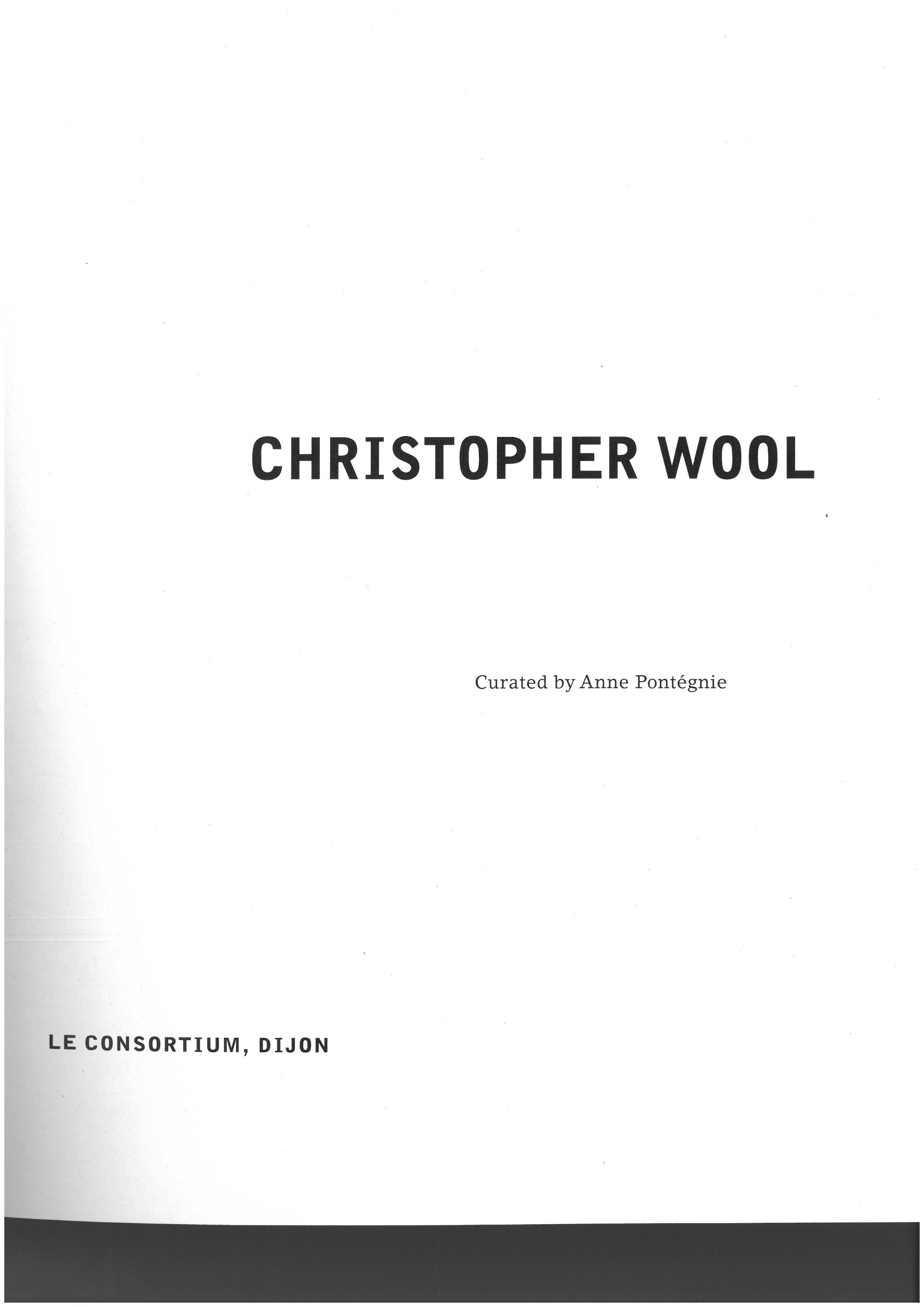 "Anne Pontégnie, ""Ghost Dog"" in: ""Crosstown Crosstown"". Dijon/Dundee: Les Presses du Réel/Dundee Arts Centre, 2003, p.11-14."