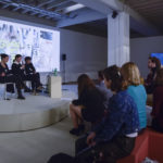 Action vs. Performance: a few questions about engagements, risks and consequences. Talk by Anne Pontégnie, Madox (activiste du collective anonyme) and Jessica Geysel, Independent Brussels, 2018 Photo Credit Hugard & Vanoverschelde. Independent Brussels and the artist